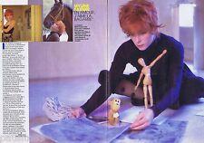 CORTE DE PRENSA RECORTE DE PRENSA 1987 Mylène Farmer (2 páginas)
