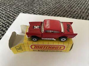 Matchbox Super Fast MB4 '57 Chevy - Heinz