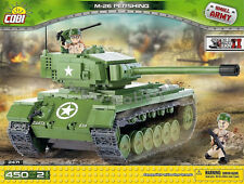 blocks bricks 450 Cobi M26 Pershing American heavy Tank 2471 good as Lego panzer