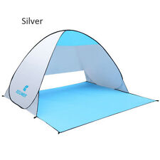 1-2 Person Poratble Beach Tent UV Sun Protective Camping Fishing Sun Shade UK