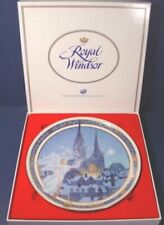 Vintage 1991 Silent Night Christmas Royal Windsor Plate