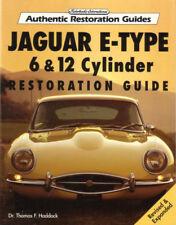 E-TYPE RESTORATION GUIDE MANUAL JAGUAR HADDOCK BOOK XKE XK-E 6 V12 3.8 4.2