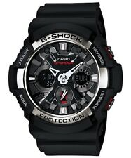 Casio G-Shock Analogue/Digital Mens Black Sport Watch GA200-1A GA-200-1ADR