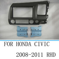 Car Stereo Radio Fascia Dash  Panel Trim Frame For Honda Civic 2008-2011 RHD
