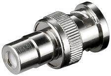 BNC-Cinch Adapter (20 Stück) BNC-Stecker > Cinchkupplung