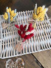 Dried Flowers Mini Bouquet Decor /Vintage/Rustic