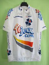 Maillot Cycliste Team 2004 FDJ Lapierre jersey Nalini vintage dédicacé - 6 / XXL