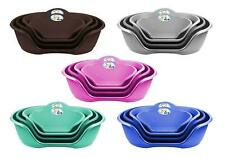 Plastic Dog Bed Heavy Duty Waterproof Dog Bed Pet Bed Puppy Cat Cushion Basket