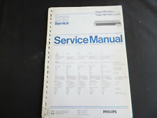 Original Service Manual Philips  70FT143 70FT141