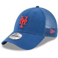 New York Mets New Era Trucker 9FORTY Adjustable Snapback Hat - Royal
