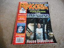 #184 FANGORIA horror movie magazine (UNREAD) -  SPIELBERG - THE HAUNTING