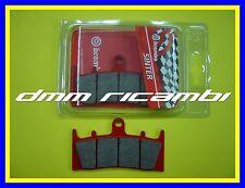 Pastiglie freno anteriori BREMBO SA SUZUKI GSX-R 750 98>99 rosse 1998 1999