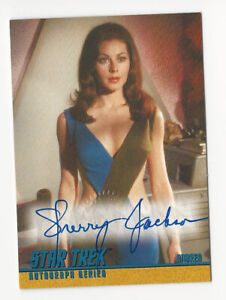 Sherry Jackson as Andrea STAR TREK TOS Season 1 Autograph Card Auto A26
