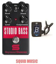 Seymour Duncan Studio Bass Compressor Sustainer - Free Dunlop Guitar Tuner