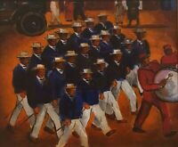 Malvin Gray Johnson : Elks Marching : 1934 : Archival Quality Art Print