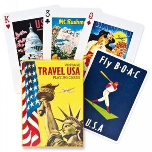 Travel USA set of 52 playing cards + jokers (gib)