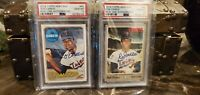 2018 2019 Topps Heritage Minor League Edition Real One Rod Carew PSA 10 Auto x 2