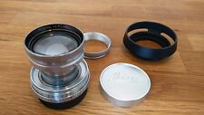 Leitz Leica Summitar 50mm F2 LTM L39 Collapsible Lens + Accessories