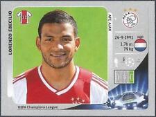 PANINI UEFA CHAMPIONS LEAGUE 2012-13- #278-AJAX-LORENZO EBECILIO