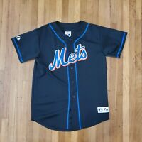 Majestic MLB New York Mets Jose Reyes #7 Jersey Size L Youth