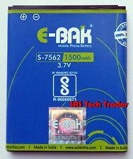Samsung Galaxy S Duos S7562/S7582/S7568 Battery By E-Bak Original