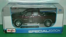 1/27 Scale 2002 Dodge Ram Quad Cab 1500 Diecast Model Truck - Maisto 31963 Red