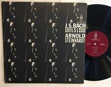 ARNOLD STEINHARDT - SONATA IN G MINOR/PARTITA D - SHEFFIELD RECORDS LP js bach