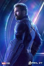 Poster A3 Vengadores Avengers Infinity War Capitan America / Captain America