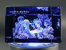 Sword Art Online Yuuki Asuna Crystal Object Figure anime Japan EXTREMELY RARE!!