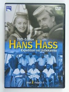 DVD-EDITION Nr. 1 - HANS HASS - EXPEDITION INS UNBEKANNTE - FOLGE 1-5 - MS: 5425