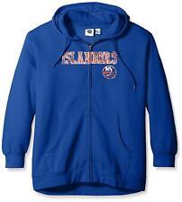 Profile NY Islanders New York Plus Size 1X Women's Full Zip Hoodie Distress NHL