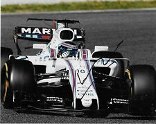 Autographed Williams driver Lance Stroll signed 8x10 2 Photo Formula 1