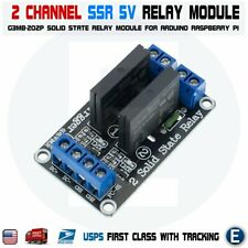 2 Channel SSR Solid State Relay Module For Arduino 5V 2A Low Level