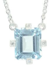 Topaz Cubic Zirconia Sterling Silver Fine Jewellery