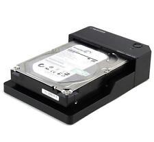 New 2.5/3.5-inch Hard Drive Docking Station USB3.0 SATA3 6Gbps Free Tool Max 8TB