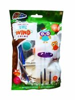 OWL CHIME Paint Your Own Nylon Kite Garden Festival Camping Wind Sock NEW UK