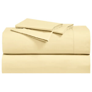 "Abripedic Percale, Breathable Crispy Soft 22"" Super Deep Pockets Bed sheet set"