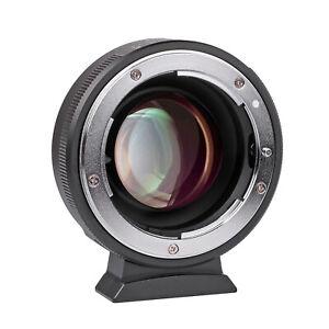 Viltrox Speedbooster Adapter Nikon F Lens to M4/3 Mount Camera Olympus Panasonic