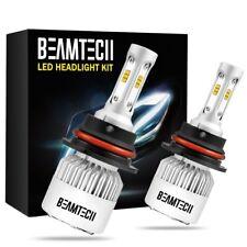 9004/HB1 LED Headlight Bulbs High Low Beam 6500K 72W 8000LM White Conversion Kit