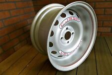 CUSTOM TWO PIECE 15X8 CORSA GT STEEL WHEELS 4X100 BC / SET OF ( 4 )