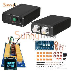 100W OLED ATU100 Automatic Antenna Tuner by N7DDC DIY KITS 1.8-50 MHz 0.96 inch