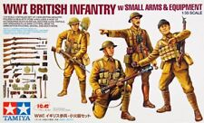 Tamiya 1/35 WWI British Infantry w/Small Arms & Equipment # 32409