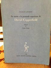 1948 CHARLES DICKENS - DAVID COPPERFIELD - TRADUZIONE. CESARE PAVESE - EINAUDI