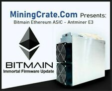 Antminer E3 🔥  IMMORTAL UPDATE 🔥 ETH 190MH ASIC + included Power Supply 😎 USA