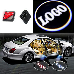 For Nissan LED Logo Laser Wireless Door Courtesy Welcome Shadow Light 2pcs