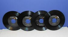 ELVIS 45 RPM RECORDS - YOU'RE A HEARTBREAKER, IN THE GHETTO... - SET 4