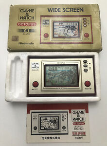 Nintendo Game & Watch Octopus Boxed Console