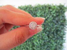 2.00 Carat Face Illusion Diamond Ring 18k White Gold (S.SET 008) sep