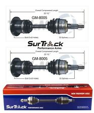 For Chevy Astro GMC Safari AWD 1990-1996 Pair Front CV Axle Shafts SurTrack Set