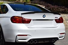 Carbon Process Trunk Spoiler for BMW F82 M4 Model P Type  Coupe 2014+